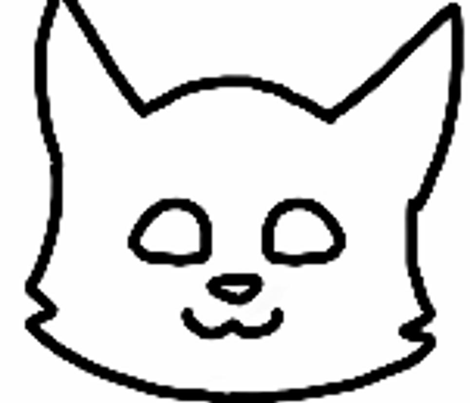 Anime White Cat And Black Cat