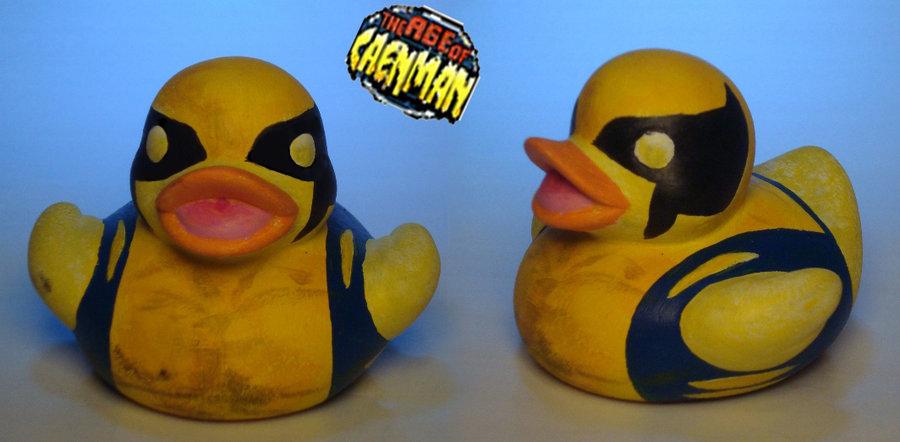 Wolverine Rubber Ducky by Caen-N