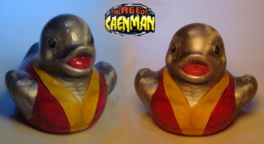 Colossus Rubber Ducky by Caen-N on DeviantArt