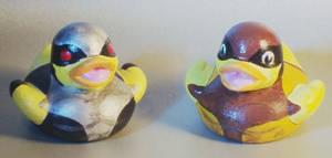 Brown n X-Force Wolvie Duckie by Caen-N