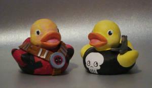 Deadpool n Punisher Duckies by Caen-N