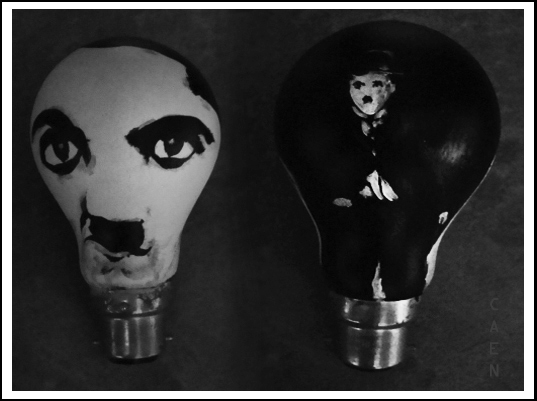 Charlie Chaplin Idea by Caen-N
