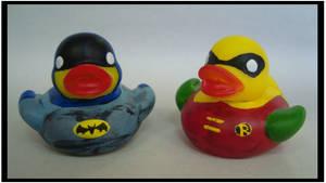 Batman and Robin Duckies