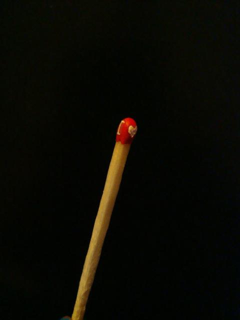 I Heart U Matchstick by Caen-N