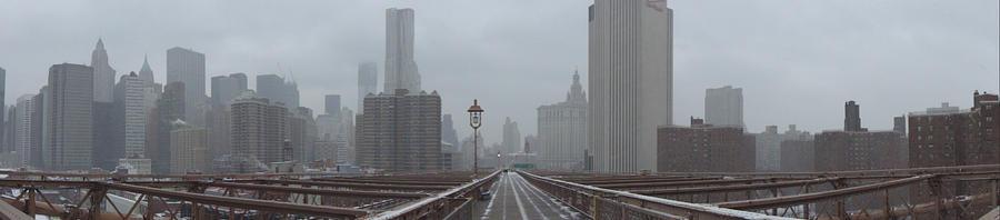 NY from Brooklyn Bridge by Caen-N