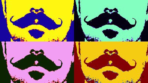 Pop Mustache by Caen-N