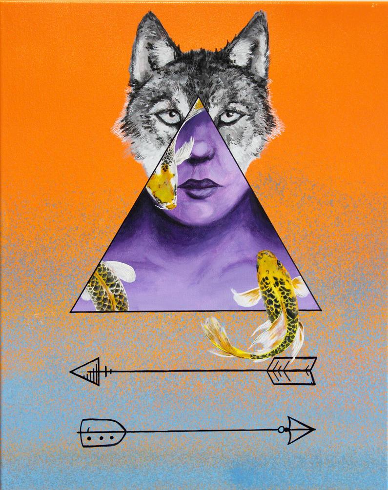 Wolf Koi by Caen-N