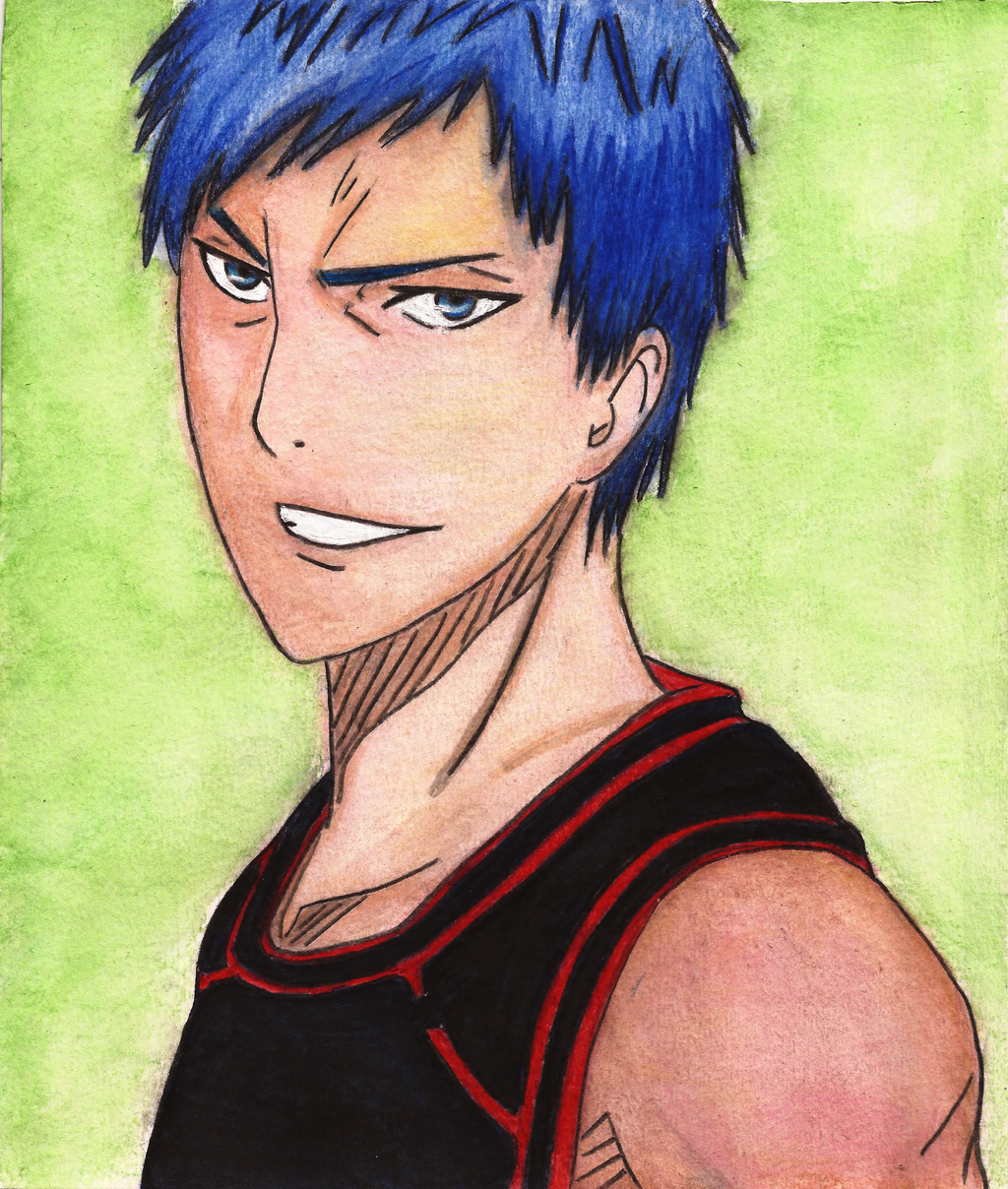 aomine daiki by misakikokoro on deviantart