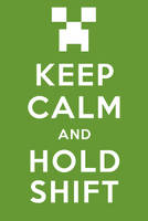 Keep Calm and Hold Shift by EganWorks