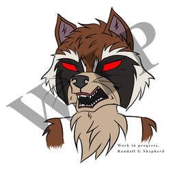 Rocket Raccoon WIP