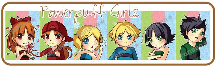 Powerpuff and Rowdyruff Set by fansea