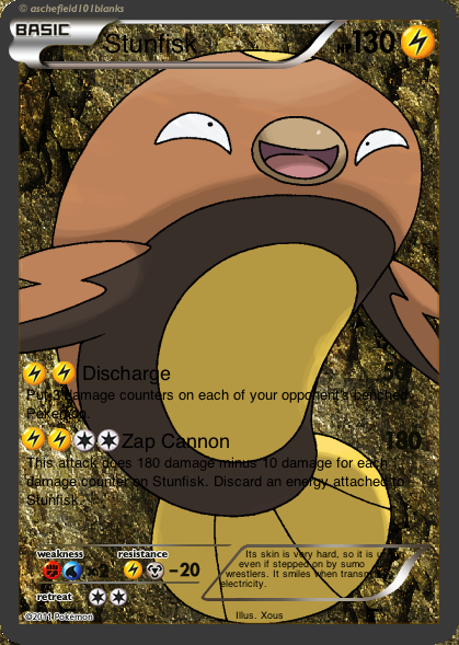 Stunfisk evolution card