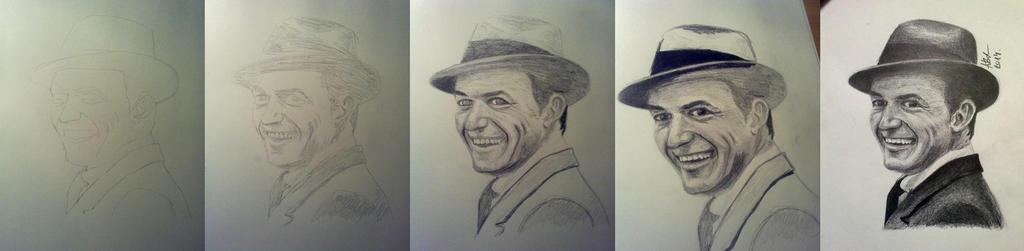 Frank Sinatra WIP by fbakos