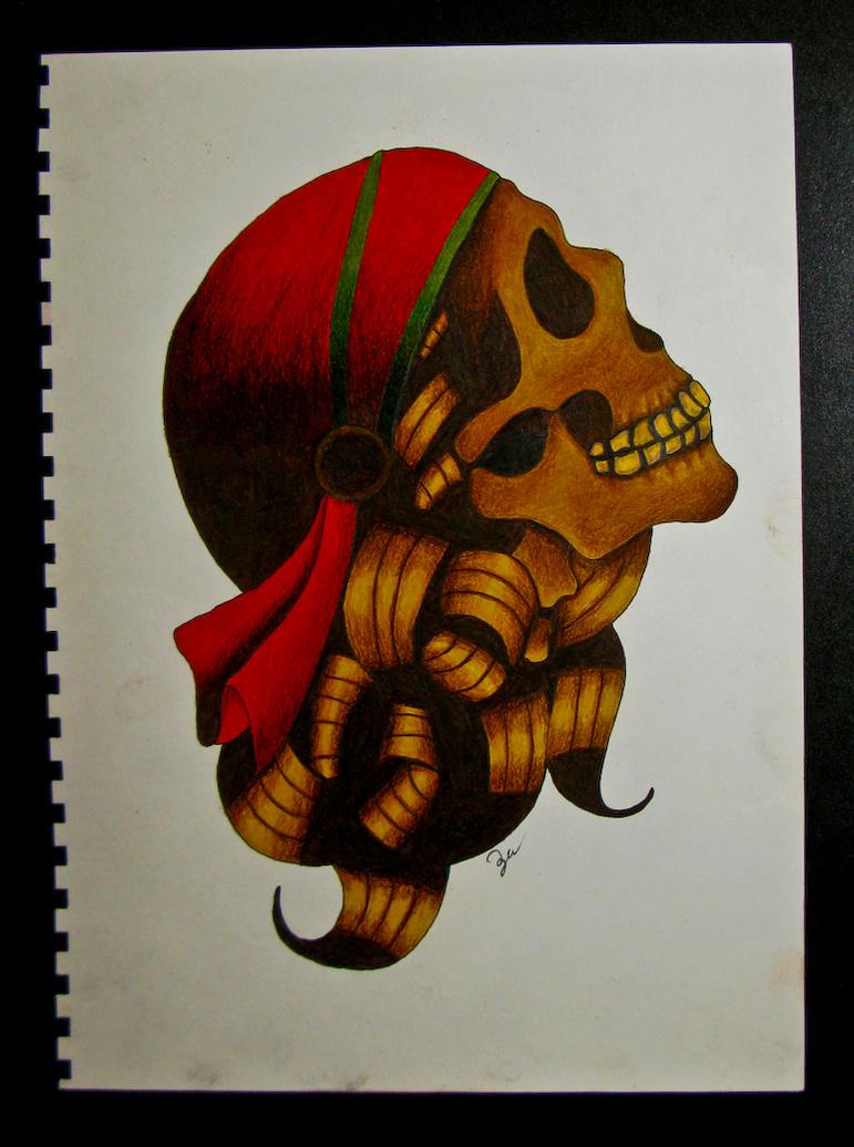 Gypsy Skull by zedkhov