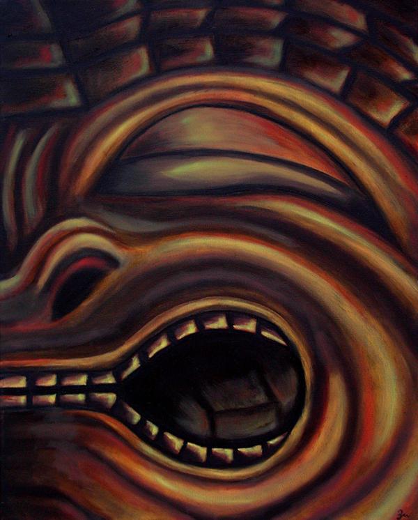Tiki God by zedkhov