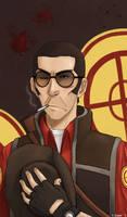 Team Fortress 2: Sniper by NansCLJC