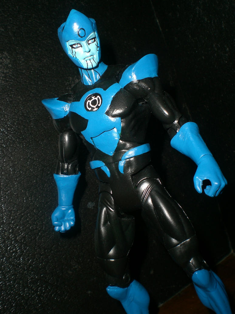 Blue lantern corps razer - photo#1