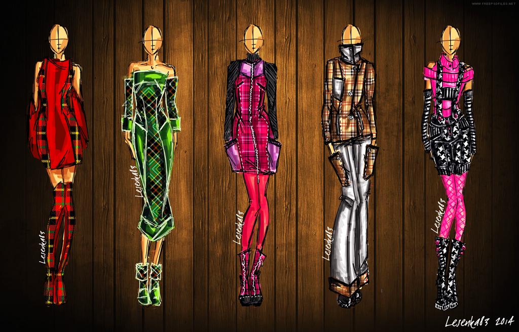 Fashion set 2 by lesenka83 on deviantart for Fashion designer craft sets