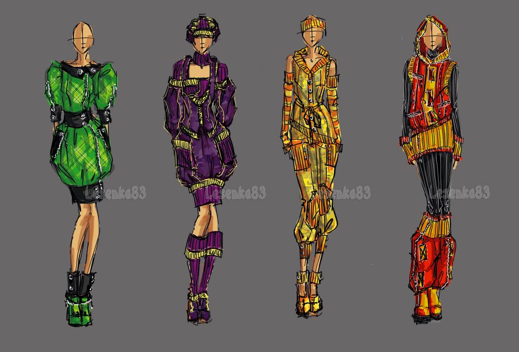 Fashion set 3 by lesenka83 on deviantart for Fashion designer craft sets