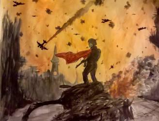 Fall of Berlin, 1945 by RedStarCarrier