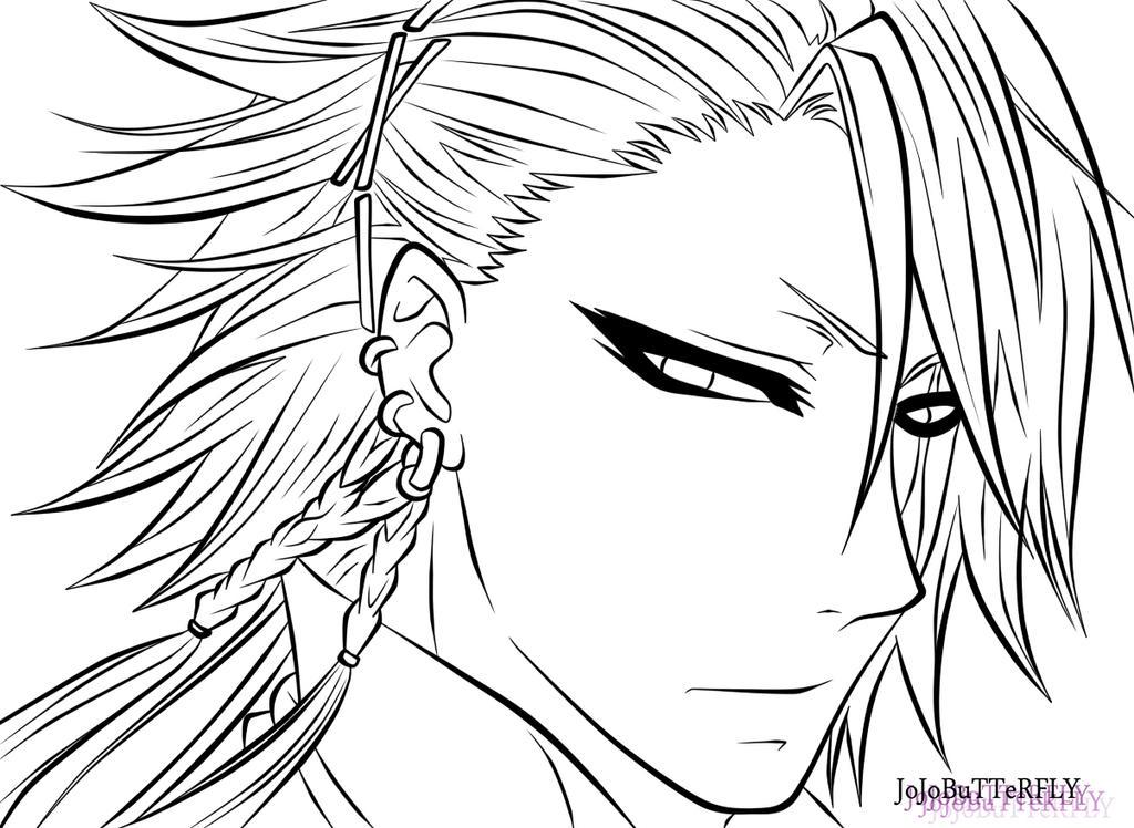 The Joker Line Art : Joker from kuroshitsuji book of circus lineart by