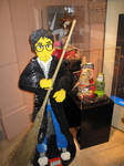 Harry Potter made of Lego
