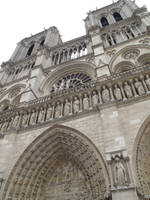 notre dame cathedral by LadyEloise