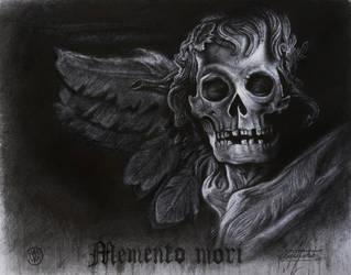 Memento mori ( mixed drawing techniques) by KaradjinovicMarko