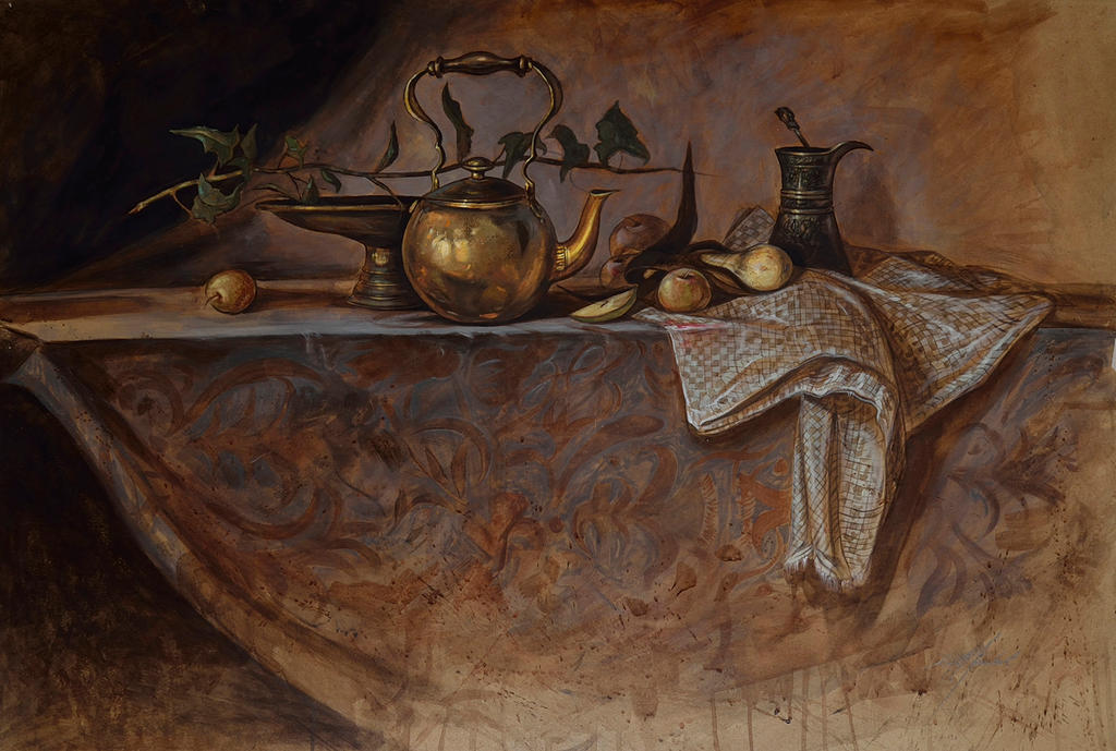 One of my older Still life paintings by KaradjinovicMarko