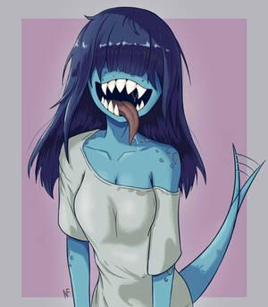 Jaw worm girl