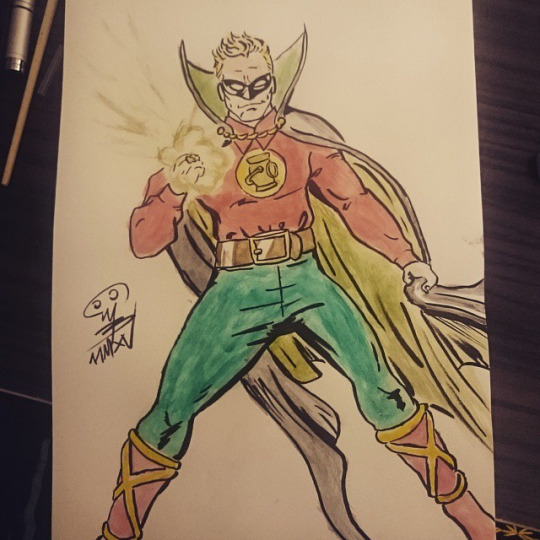 Alan Scott Green Lantern by mertbaran