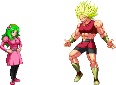 Dragon Ball Super - Brianne de Chateau and Kale by barker09