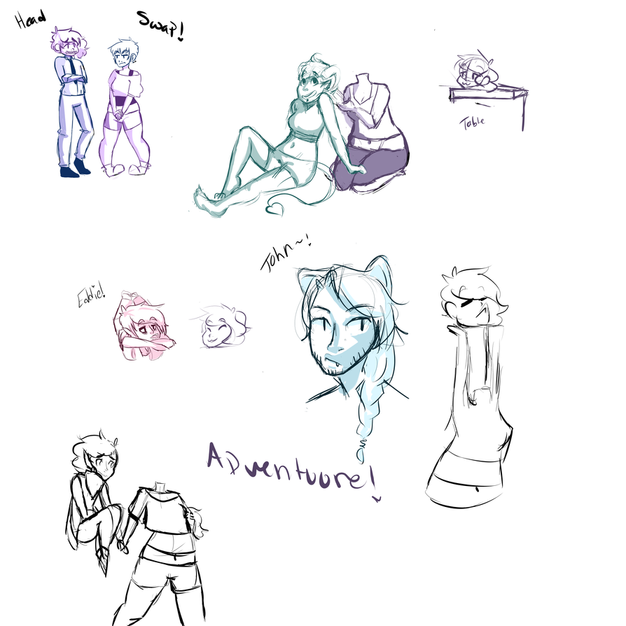 :MF: sketch dump by asinineRainbows