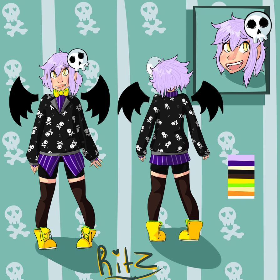 :comm- watercoloredangle: Ritz by asinineRainbows