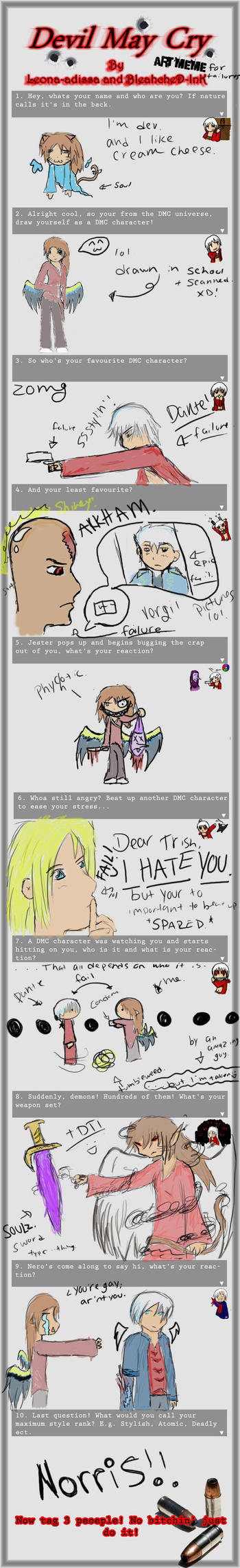 Devil May Cry art meme by Devils-Fantasy21