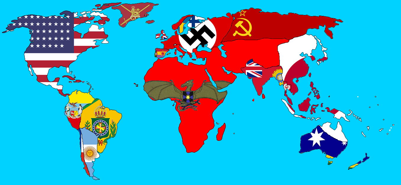 Domination of the Draka World, flag map, 1942 AD by Alkar555 ... on global flags, world map banner, world map with countries, world map countries of the world, us state flags, world map europe, world map engraving, middle east flags, world map apparel, african flags, world map wallets, german flags, north american flags, world map us states, globe flags, country flags, world map wall graphics, russia flags, world map bookmarks, usa maps flags,