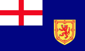 Flag of Her English Majesty's Colony of Scotland