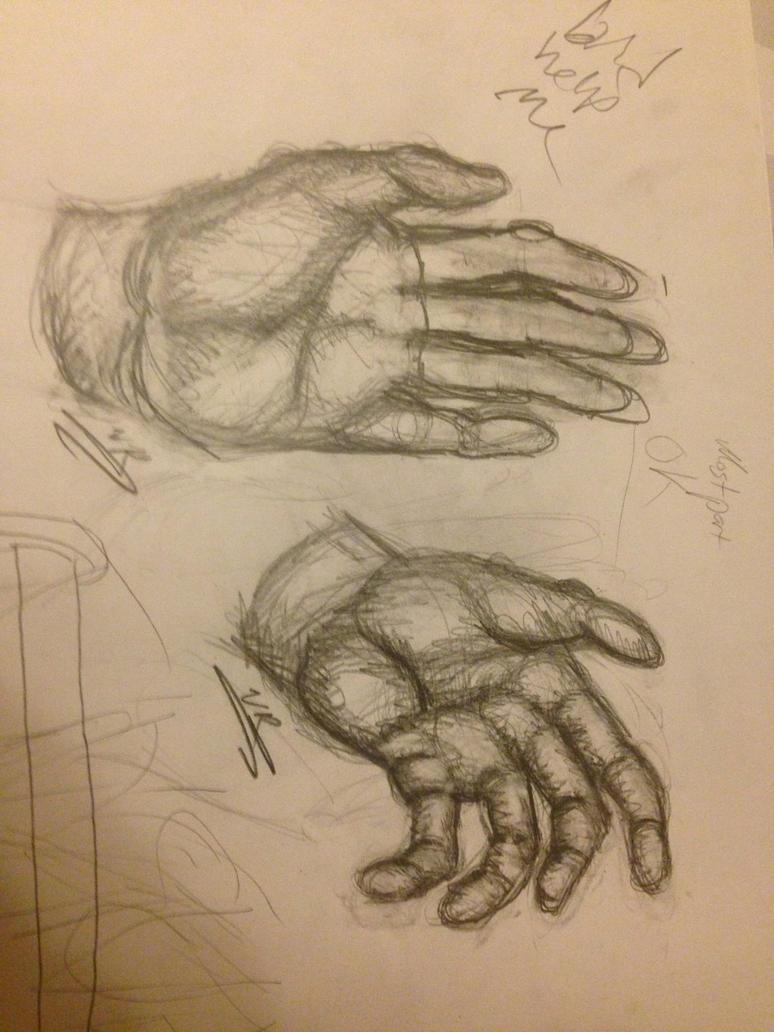 Simple Hand Anatomy Sketches by sunflowereffect on DeviantArt