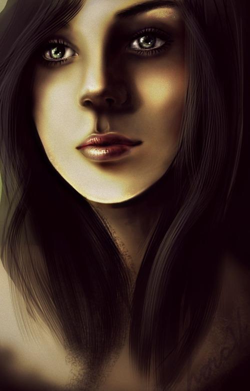Portrait by LasAngel