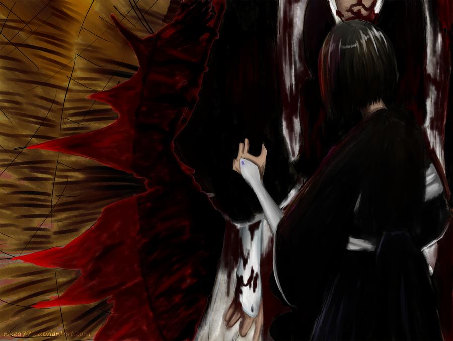 Teardrop On The Fire by nikea777