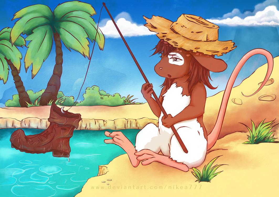 Fishing! by nikea777