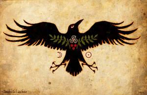 Raven Talisman of Protection