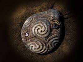 Irish Sea Amulet by bonegoddess