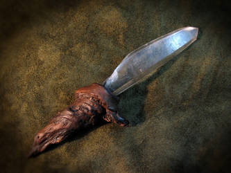 Ice Dagger by bonegoddess
