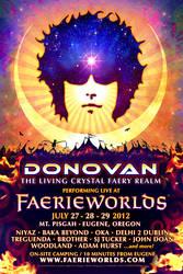 FAERIEWORLDS 2012 - Donovan Poster