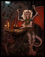 Gargoyle Gypsies - Color by bonegoddess