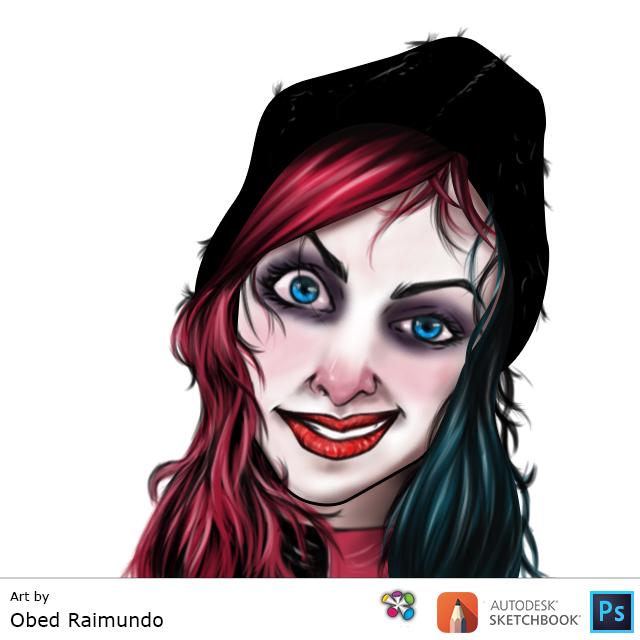 Harley-Quinn-2015-OER by oezo