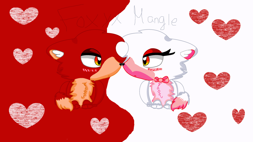 Foxy and mangle fnaf related keywords amp suggestions foxy and mangle