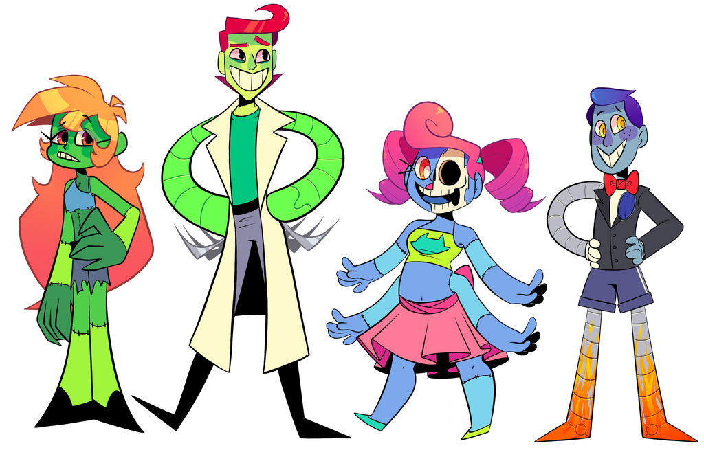 Lineup by FrigginAdoptables