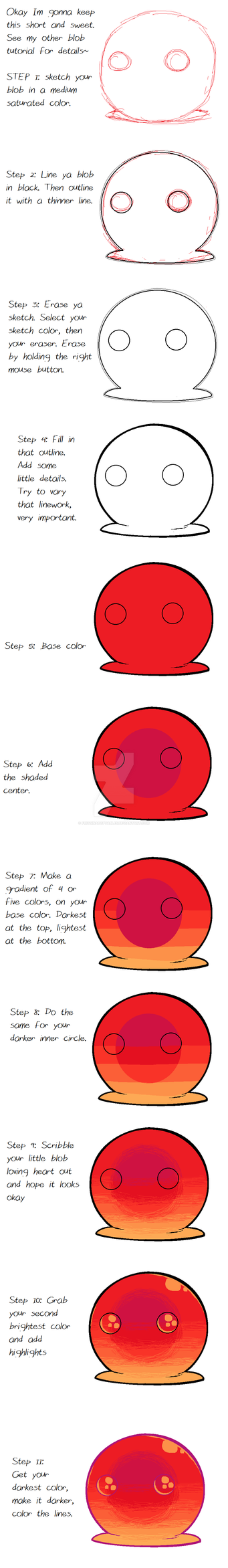 MS Paint Blob Tutorial by FrigginAdoptables